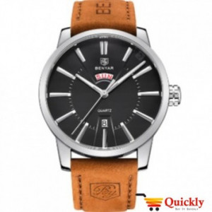 Benyar 5101 Men Leather Watch Online In Pakistan