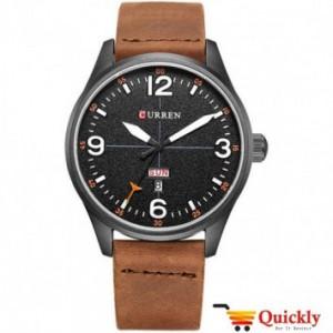 Curren M8265 Men's Watch Soft Leather Wrist Watch