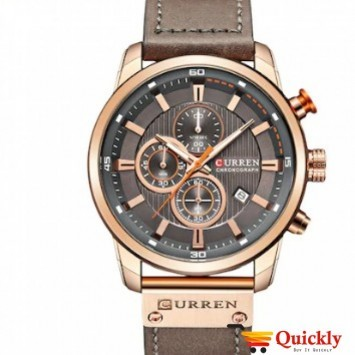 Curren M8291 Watch Chronograph Original Watch With Date