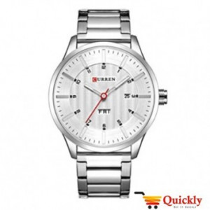 Curren M8316 Watch Chain Strap With Day & Date