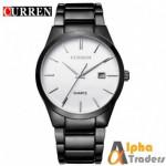 Curren M8106 Watch Quartz Chain Strap With Date