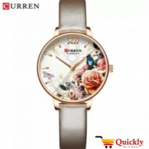 Curren C9060L Ladies Watch Leather Strap