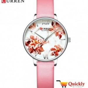 Curren C9060L Ladies Watch Leather Strap Wrist Watch