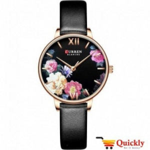 Curren C9060L Ladies Watch Leather Strap Stylish Watch