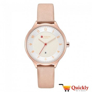 Curren C9035L Ladies Watch Leather Strap With Date