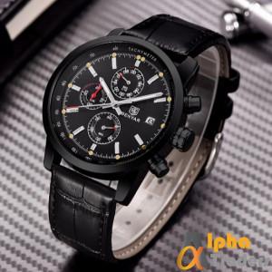 Benyar BY-5102M Chronograph Watch Leather Strap
