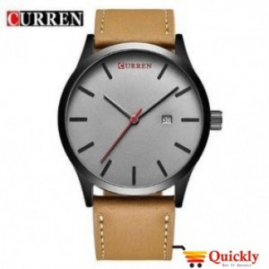 Curren M8214 Casual Simple Nail Dial Men Watch