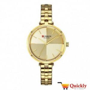 Curren C9043L Ladies Watch Gold Chain Strap Wrist Watch