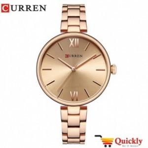Curren C9017L Ladies Gold Stylish Strap Watch