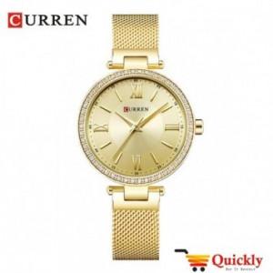Curren C9011L gold color ladies watch