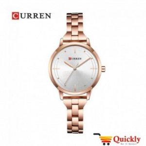 Curren C9019L Rose Gold Ladies Wrist Watch