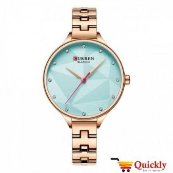 Curren C9047L Rose Gold Ladies Wrist Watch