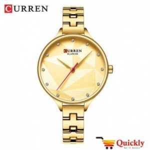 Curren C9047L Gold Ladies Wrist Watch