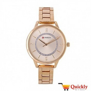 Curren C9006L Rose Gold Ladies Wrist Watch