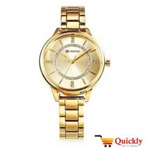 Curren C9006L Gold Ladies Wrist Watch