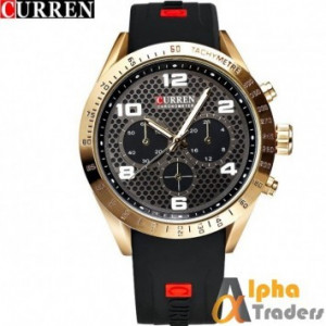 Curren 8167 Men Watch Sports Leisure Waterproof Watch