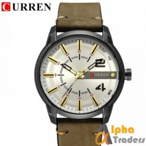 CURREN 8306 Men Watch Famous Luxury Brand Military Mens Watch