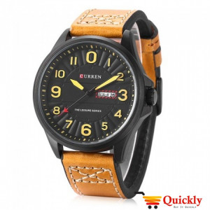 Curren M8269 Men's Watch Leather Strap
