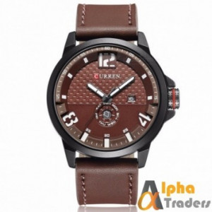 Curren M8253 Men's Watch Leather Strap