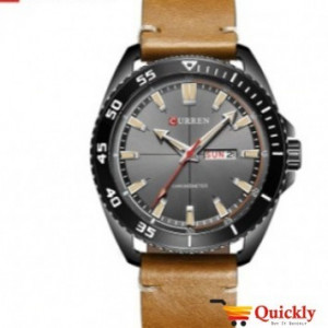 Curren M8272 Men's Watch Leather Strap