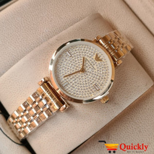 Emporio Armani AR-11206 Ladies Watch Gold