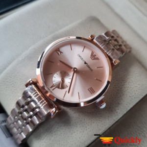 Emporio Armani AR-1840 Ladies Watch Rose Gold