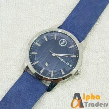Police 9008B Watch Leather Strap Stylish Watch