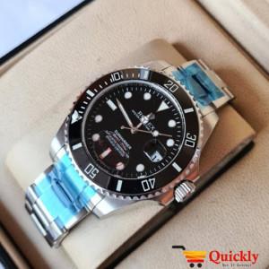Rolex Submariner Watch Chain Strap With Date Wrist Watch