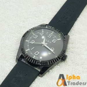 Rolex Watch Leather Strap With Date