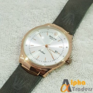 Rolex Geneve Leather Strap AT-4