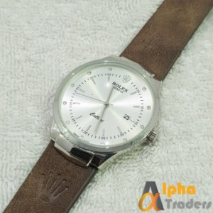 Rolex Geneve Leather Strap AT-3