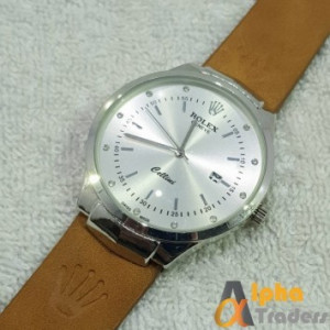 Rolex Geneve Leather Strap AT-2