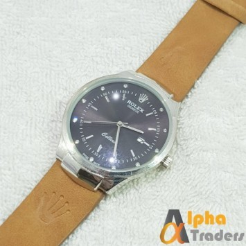 Rolex Geneve Leather Strap AT-1