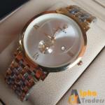 ROLEX 3479 Men Silver & Gold Color Watch