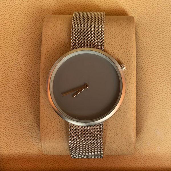 Tomi T078 Men Chaffer Chain Strap Watch Grey Dial
