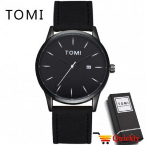 Tomi T071 Men Leather Watch