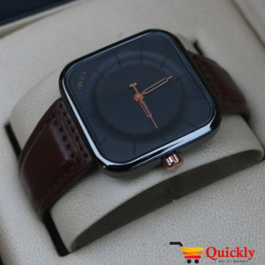 Tomi T093 Men Leather Watch With Beautiful and Amazing Color