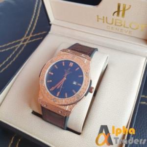 Hublot 882888 Men Leather Analog Watch online