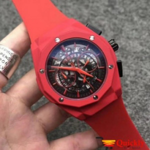 HUBLOT Geneve 582888 Full Red Watch