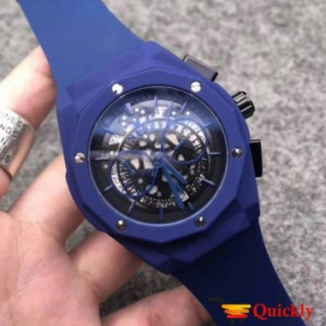 HUBLOT Geneve 582888 Full Blue Watch