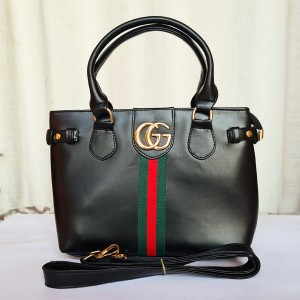 Gucci Ladies Hand Bag Black Color QB00210