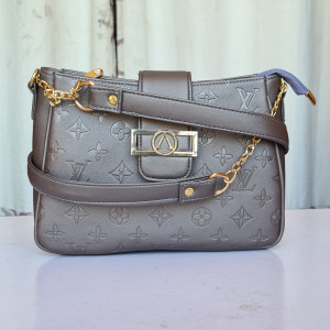 LV Ladies Bag Grey Color QB00150
