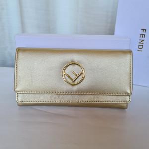 Fendi Ladies Purse Gold Color QB00158