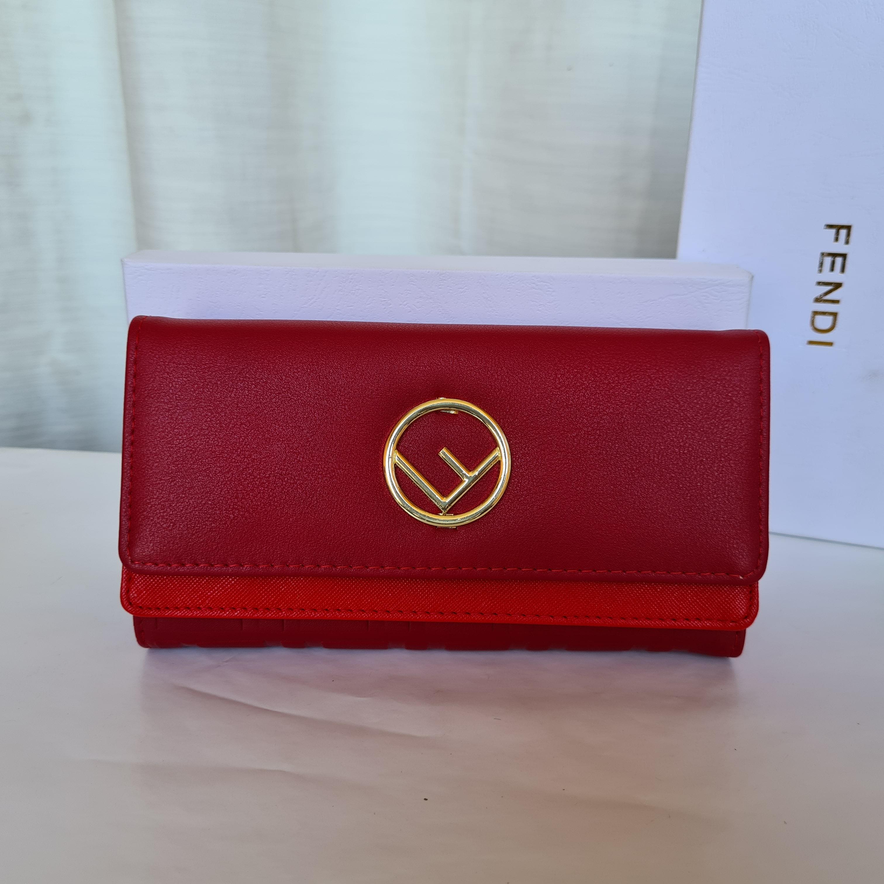 Fendi Ladies Purse Red Color QB00159