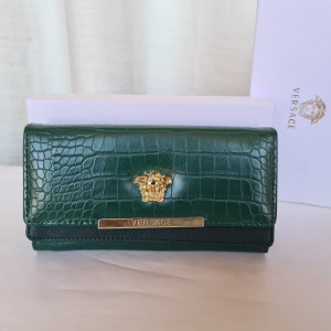 Versace Ladies Purse Green Color QB00165