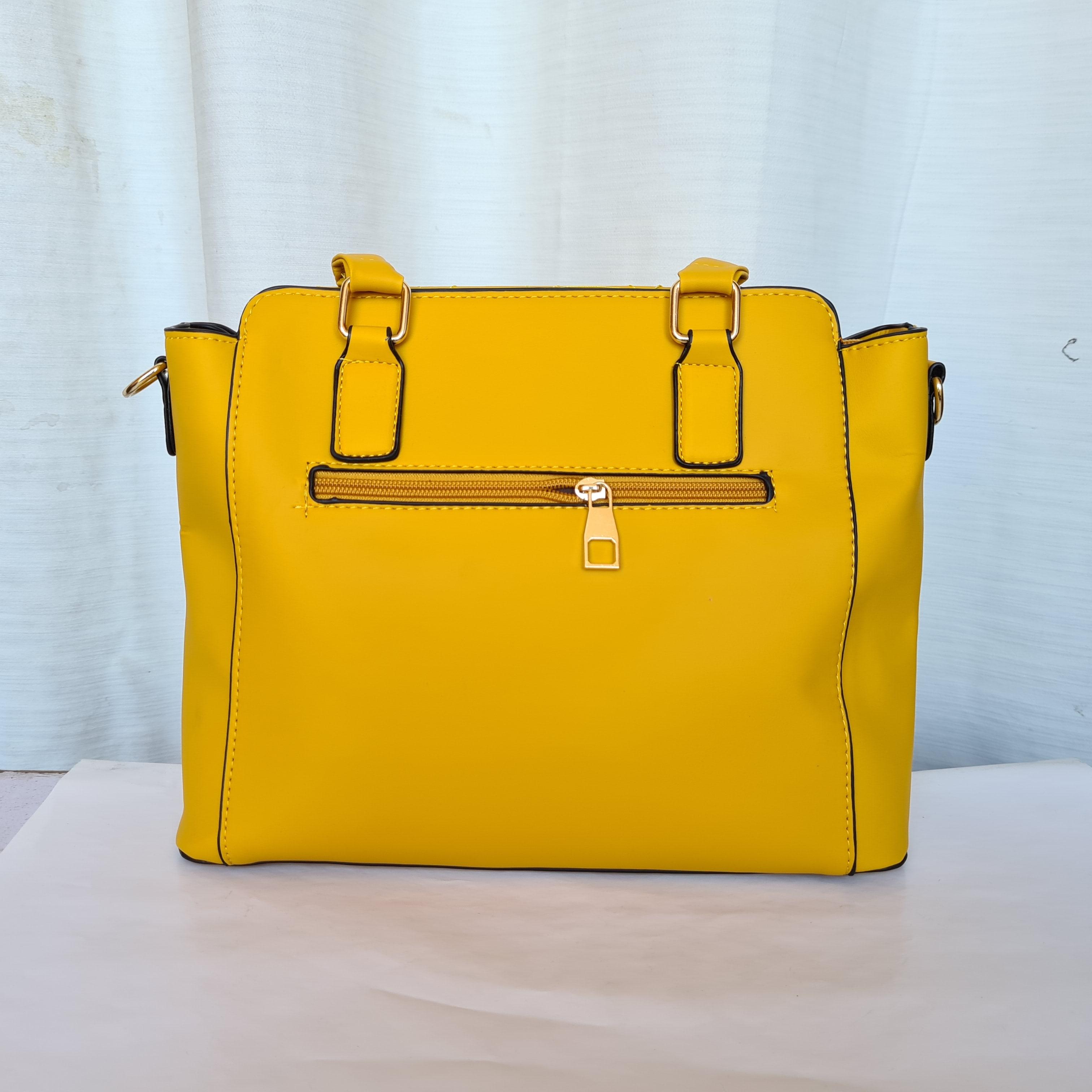 Prada Ladies Bag Yellow Color QB00182