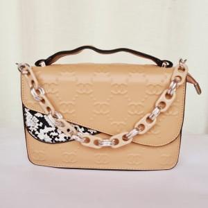 Chanel Ladies Hand Bag With Plastic Chain QB00196