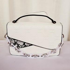 Chanel Ladies Hand Bag With Plastic Chain QB00197