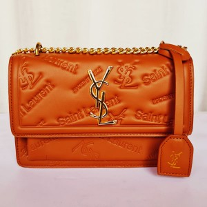 YSL Ladies Hand Bag With Stianless Steel Chain QB00198