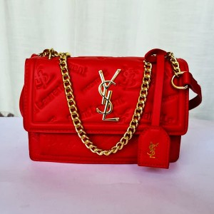 YSL Ladies Hand Bag With Stianless Steel Chain QB00199